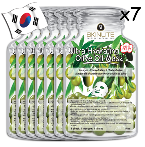 SKINLITE Ultra Hydrating Olive Oil Face Mask (Bottle Shaped) - Yes! You Beauty