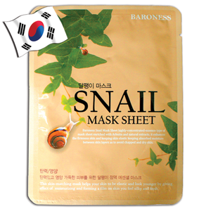 BARONESS Snail Face Mask - Yes! You Beauty