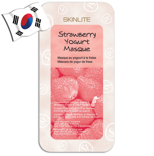 SKINLITE Strawberry Yogurt Wash-off Mask