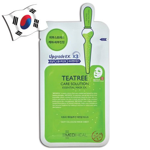 MEDIHEAL Tea Tree Care Solution Essential Face Mask EX. Upgrade EX. X3 - Yes! You Beauty