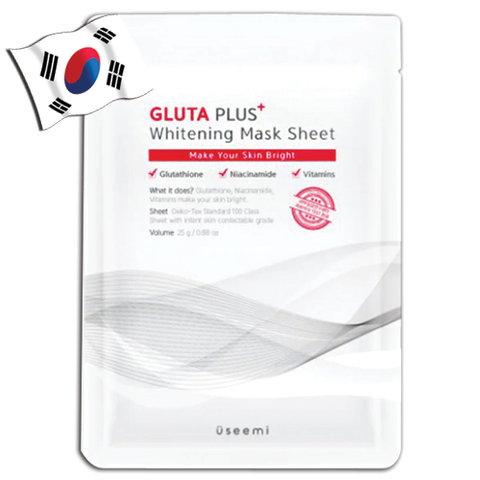USEEMI Gluta Plus+ Whitening Mask Sheet - Yes! You Beauty