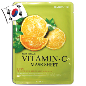 BARONESS Vitamin C Face Mask - Yes! You Beauty