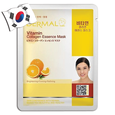 DERMAL Vitamin Collagen Essence Face Mask - Yes! You Beauty