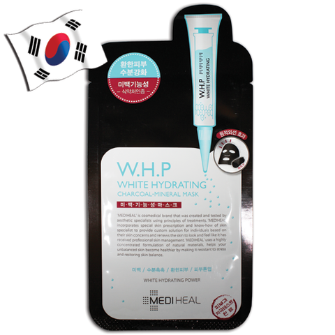 MEDIHEAL W.H.P White Hydrating Charcoal Mineral Face Mask