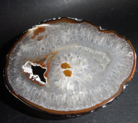 Agate Chalcedony Mineral Stone Slab