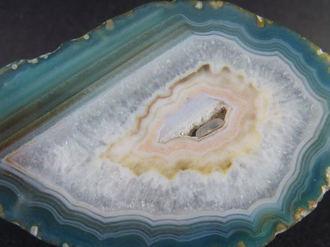 Banded Agate Mineral Stone Slab