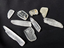 White Kunzite Polished Crystal Tumble Healing Gemstones