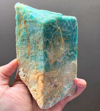 Rare Top Large Raw Amazonite Crystal Stone Chunk Mineral Specimen - AMZ10147