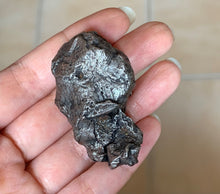 Natural Sikhote Alin Iron Meteorite Specimen Russia 1947 Fall Etched Stone - MT10183