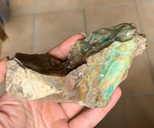 Big Blue Opalized Fossil Petrified Wood Mineral Specimen Crystal Stone OPW10157