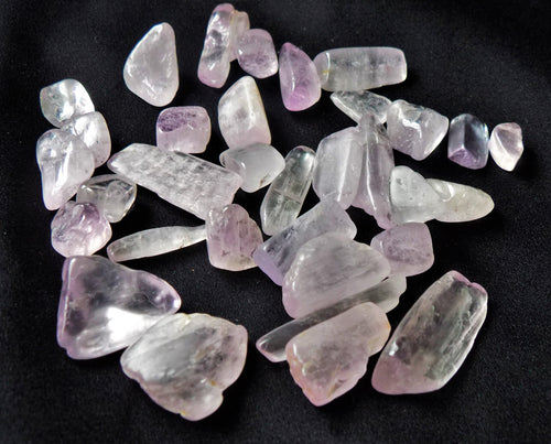 Kunzite Polished Crystal Tumble Healing Gemstones 50 Grams or 100 Grams