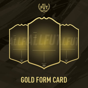 New Season A3 A4 Custom Gold Form Card