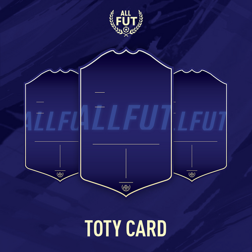New Season A3/ A4 Custom TOTY Card