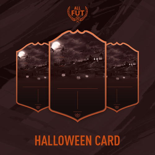 New Season A3/ A4 Custom Halloween Card