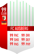 Augsburg Pre Made Player Card
