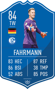 Schalke Pre Made Player Card