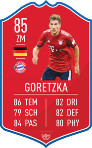 Bayern Munich Pre Made Player Card