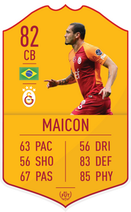 Galatasaray Pre Made Player Card
