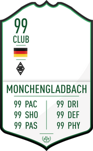 Monchengladbach Pre Made Player Card