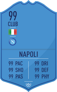 Napoli Pre Made Player Card