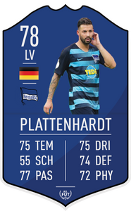 Hertha BSC Pre Made Player Card