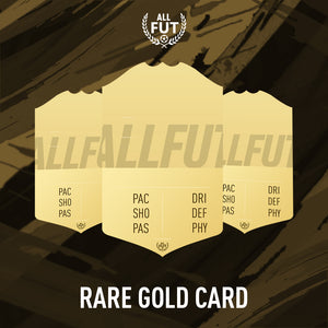 New Season A3/A4 Custom Rare Gold Card