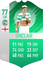Celtic Pre Made Player Card