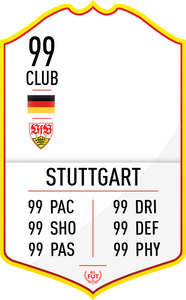 Stuttgart Pre Made Player Card