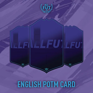 New Season A3/ A4 English POTM Card