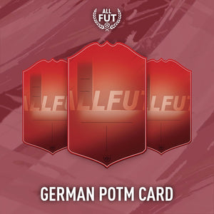 New Season A3/ A4 German POTM Card