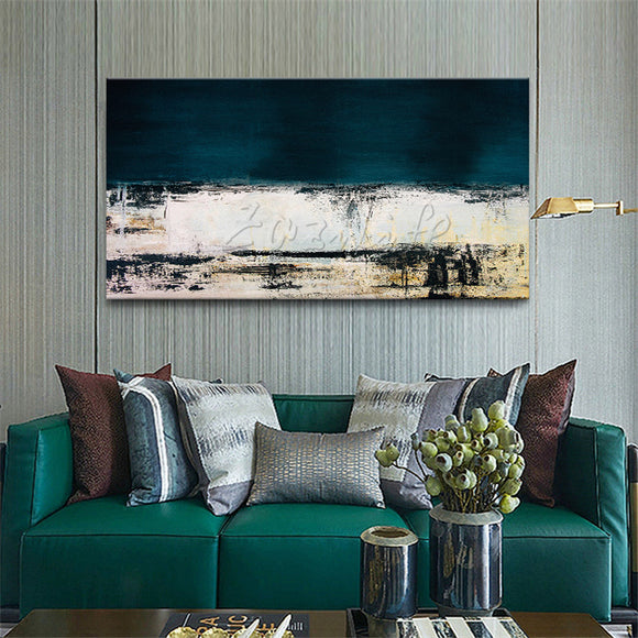 Hand painted canvas oil paintings handmade Wall art Pictures for living room modern abstract cuadros quadro Home decorative