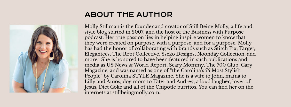Molly Stillman Author Block