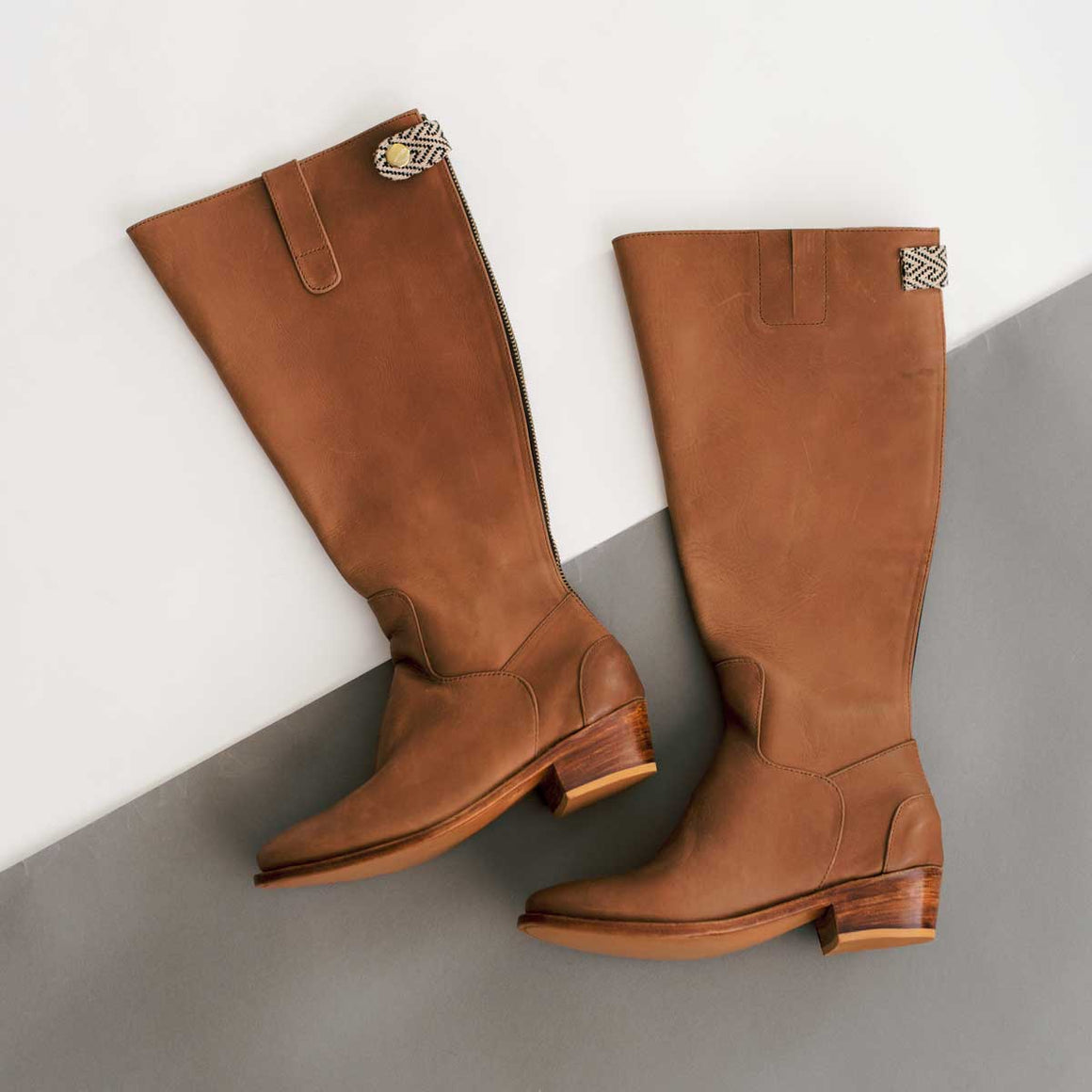 Ariana Boot in Chestnut Leather