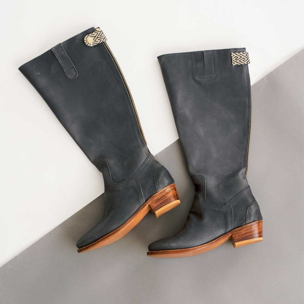 Ariana Boot in Dusk Leather