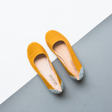 Load image into Gallery viewer, Gaby Flat in Mustard {pre order}