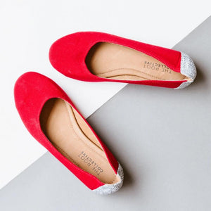 Gaby Flat in Strawberry