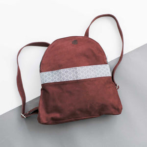 Miles Backpack in Wine