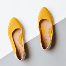 Load image into Gallery viewer, Thea Flat in Mustard {pre order}