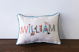 Jungle Fun Name  - Personalized Pillow
