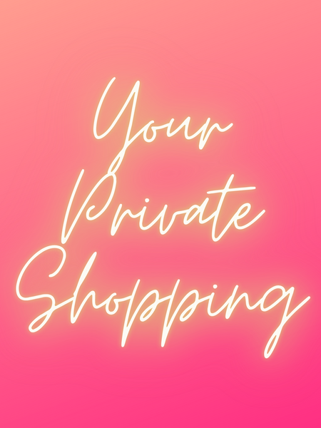 Sunday Personal/Private Shopping Time
