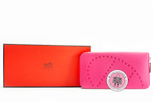 hermes-evelyne-h-dots-zip-chevre-long-wallet-phw-IS009971