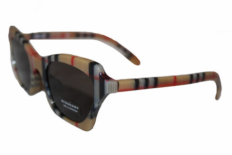 New Burberry Sunglasses B4283-F 3778/3 Vintage Check Sunglasses