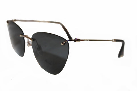 New Valentino VA2022 Frameless Cat-Eye Sunglasses