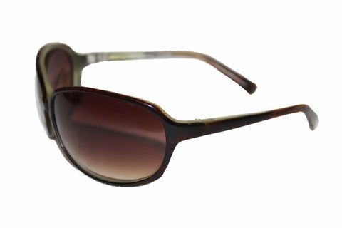 Oliver Peoples Brown Green Gradient Sunglasses 66 15-105 BB