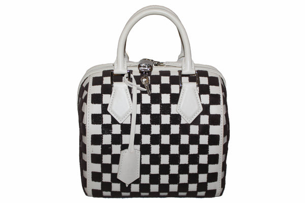Louis Vuitton Limited Edition Cube Speedy 25 Handbag