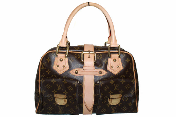Louis Vuitton Classic Monogram Manhattan GM Handbag