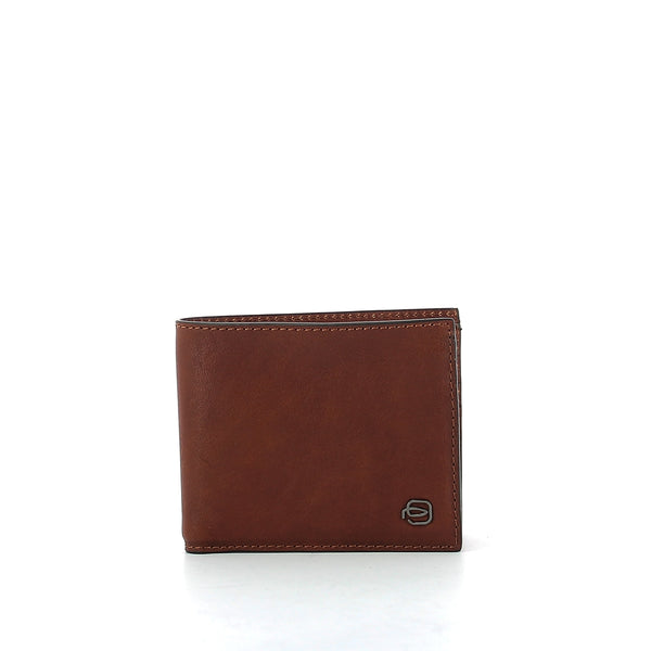 Piquadro - Wallet with removable ID holder Black Square - PU3891B3R - CUOIO