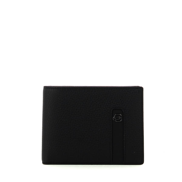 Piquadro - Men wallet with credit card slots Ili - PU1241S86 - NERO