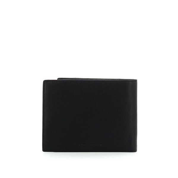 Piquadro - Twelve card slots men wallet Brief - PU1241BRR - BLU