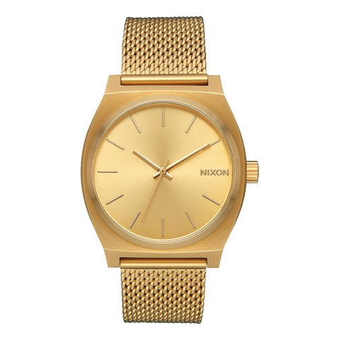 Nixon - Orologio Time Teller Milanese 37 mm All Gold - A1187-502 - ALL/GOLD